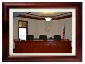 Photo of courtroom.
